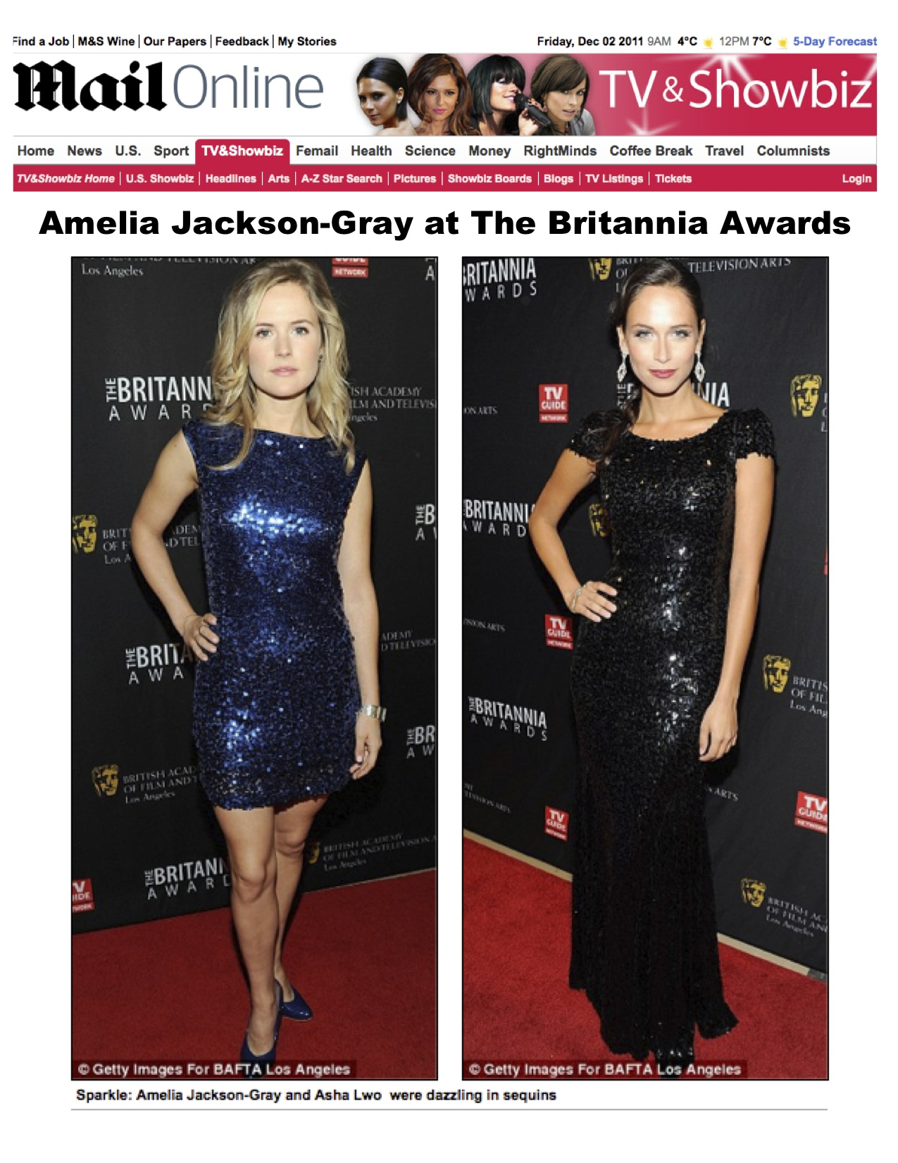Amelia Jackson Gray amelia jackson-gray at the britannia awards – featured in