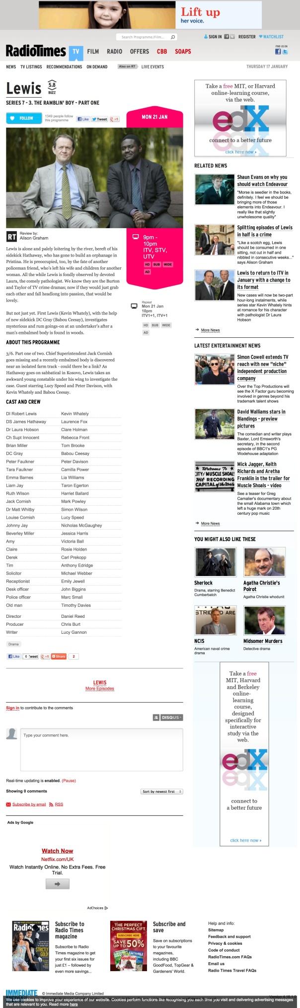 BC Radio Times Jan 13