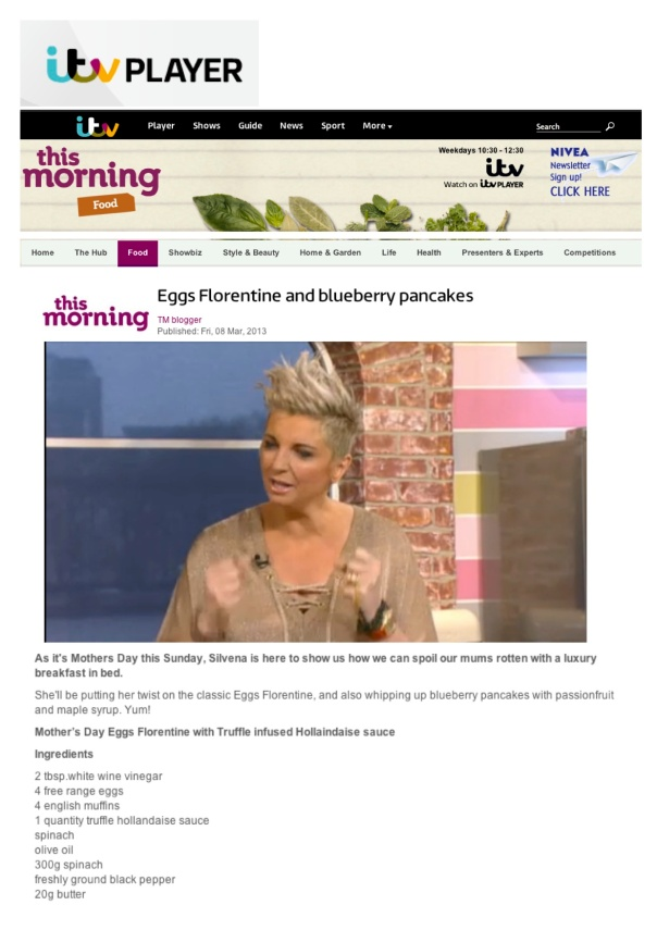 SR - ITV This Morning March 13