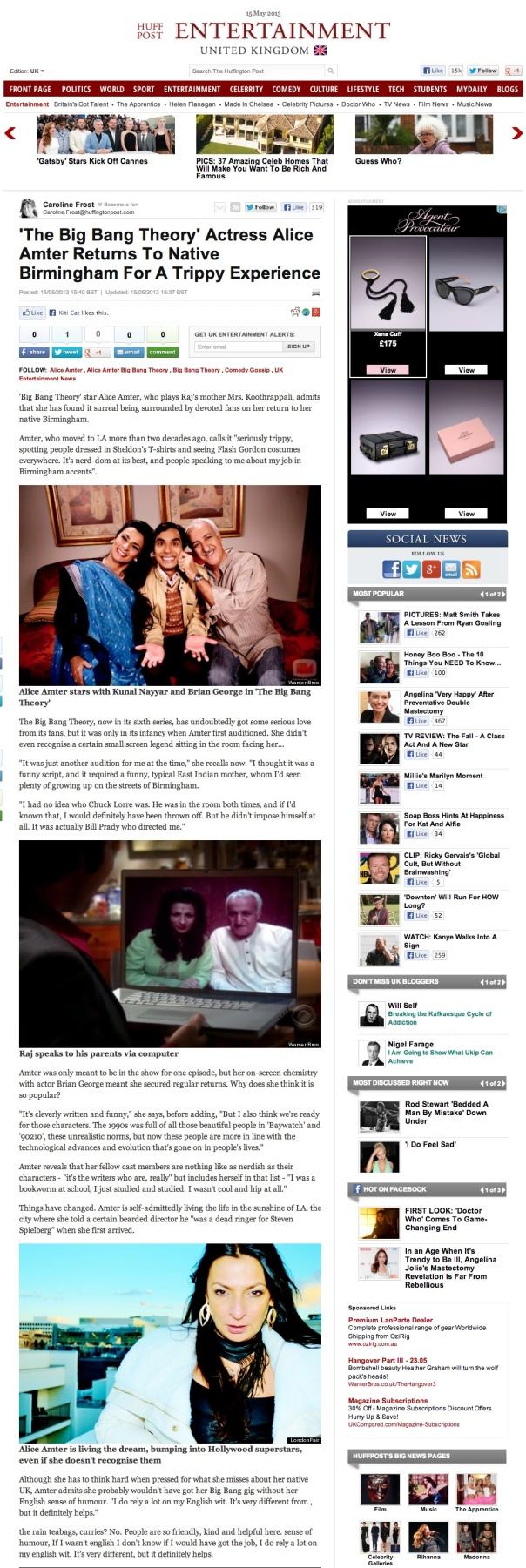 AA- The Huffington Post May 13
