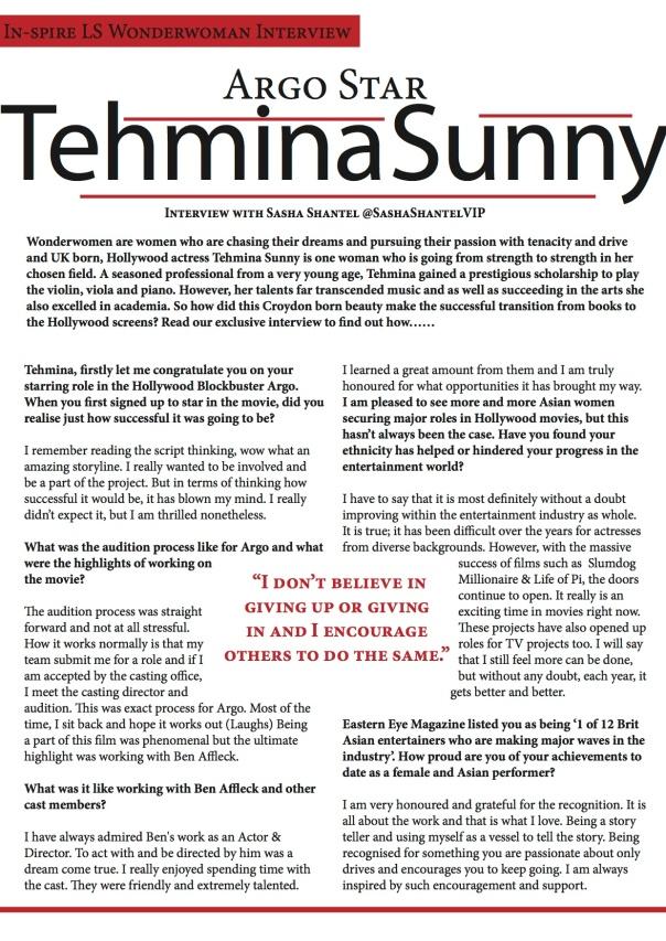 WonderWoman Tehmina Sunny 2