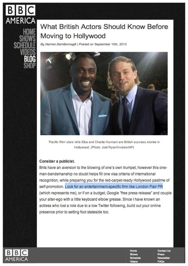 LF - Mention on BBC News
