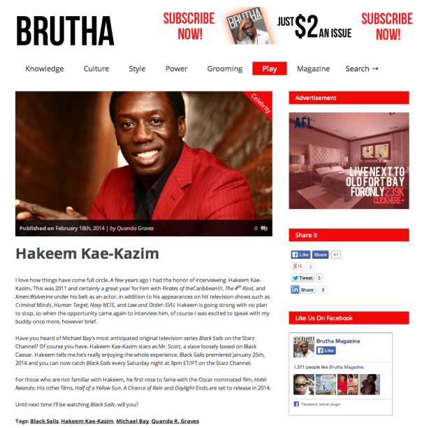 HKK-Brutha Magazine Feb 14