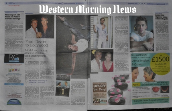 Western Morning news - clip