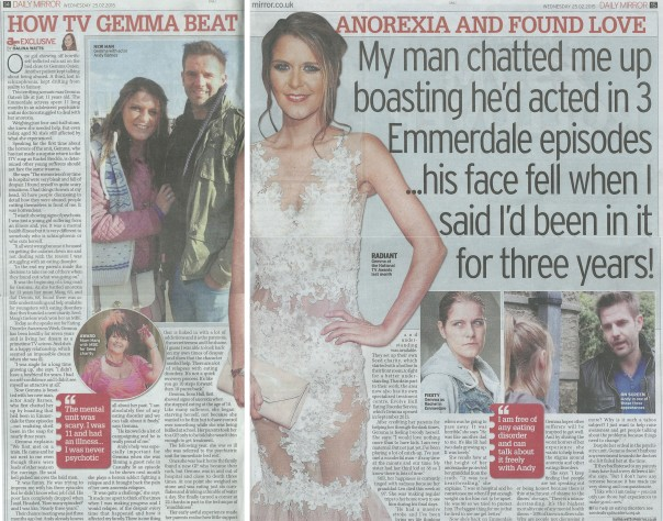 GO - Daily Mirror - Article