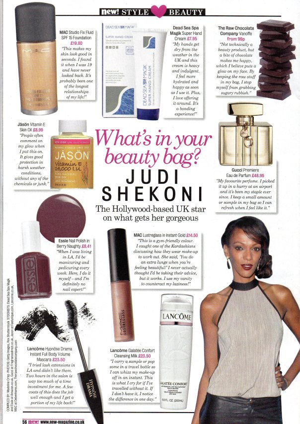 Judi Shekoni -New Mag May16